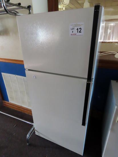 Kenmore Cross-Top Refrigerator/Freezer & GE Apartment Refrigerator.