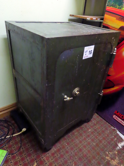 Large Antique Safe (Located on 2nd Floor - Buyer Responsible for Removal).