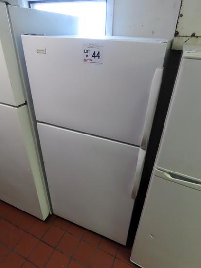 Magic Chef Cross-Top Refrigerator/Freezer.