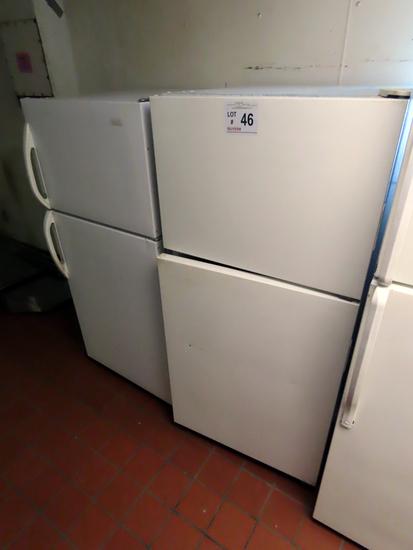 Magic Chef Cross Top Refrigerator/Freezer & Haier Cross-Top Refrigerator/Fr