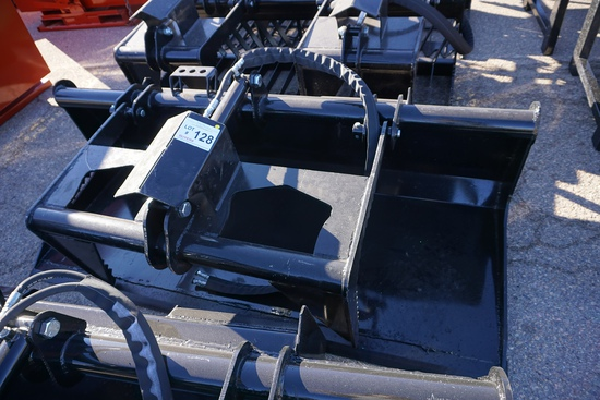"""New/Unused 78"""" Grapple Bucket with Single Cylinder."""