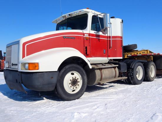 1995 IHC Model 9400 6x4 Conventional Tandem Axle Day Cab Truck Tractor, VIN# 2H5FHAER6SC030638, Cumm