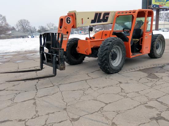 JLG Model G6-42A Rough Terrain Forklift Telehandler, SN# 0160001056, John Deere 4-Cylinder Diesel En