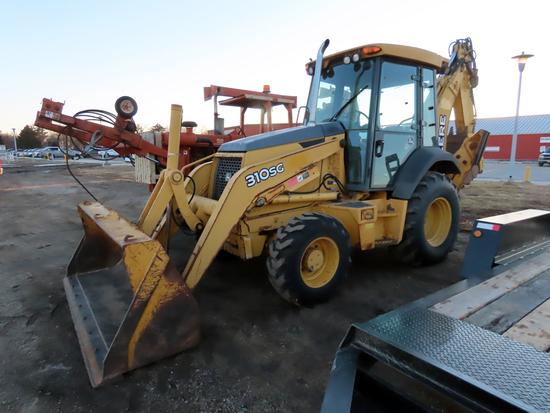 2007 John Deere Model 310SG Tractor/Loader/Backhoe, SN# T031SG957853, John Deere Diesel Engine, Hydr