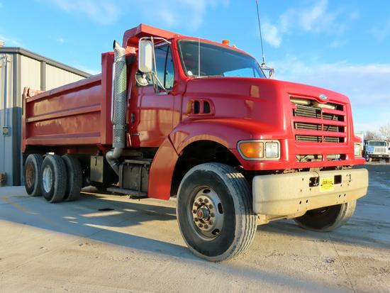 1999 Sterling Model LT8511 Tandem Axle Conventional Dump Truck, VIN# 2FZNDJBB1XAB33515, Caterpillar