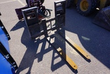 Work Saver set of Pallet Forks for Skidloaders (These are the forks ONLY, the Bucket in the photos