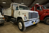 1984 GMC Tandem Axle Dump Truck, VIN# 1GTP9CLC4EV511736, 6 Cylinder Turbo Diesel Engine, 10-Speed Ea