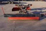 Western Pro Plus Ultra Finish 8' Front Mount Straight Hydraulic Snow Blade, Hydraulic Lift & Angle,