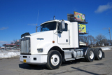 2000 Kenworth Model T-800B Tandem Axle Conventional Day Cab Truck Tractor, VIN# (Info Coming), Cummi