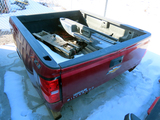 2019 Chevrolet 2500 Pickup Box (Maroon) (This is a pickup box ONLY, not a full truck).