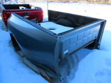 2012 Ram 3500 Dually Truck Box & Bumper, Grey Color, NO TAILGATE  (This is a pickup box ONLY, not a