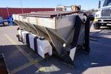 Swenson Spreader Stainless Steel Slide In Sand & Salt Spreader, Roll-Off Hook on Front, Back Roll