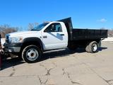 2008 Dodge Ram Model K-5500 Heavy Duty 2-Ton Dually 4x4 Diesel Dump Truck, VIN# 3D6WD76A88G125840