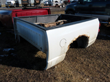 2008 Dodge Short Pickup Box (White) (This is a pickup box ONLY, not a full truck).