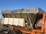 Monroe Heavy Duty Stainless Steel Slide In Truck Sand & Salt Spreader, Hydraulic Drive Floor, (2)