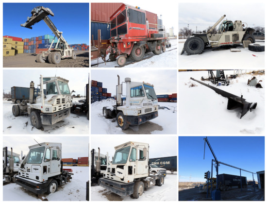 Railroad Equipment Bankruptcy Liquidation Auction