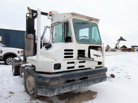 Kalmar Ottowa Model YT30 Single Axle Truck Tractor, Diesel Engine, Automatic Transmission, 5th Wheel