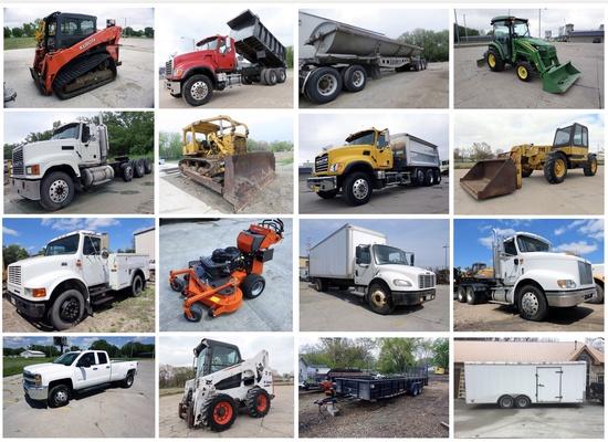 Heavy Equipment, Truck & Trailer Auction
