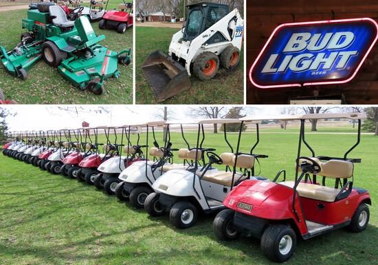 Golf Course Equipment No Reserve Auction