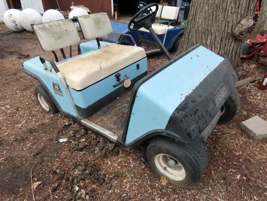 (2) E-Z-Go Marathon Golf Carts - PARTS ONLY