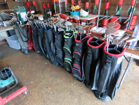 Sets of Rental Golf Clubs (All 1 $)