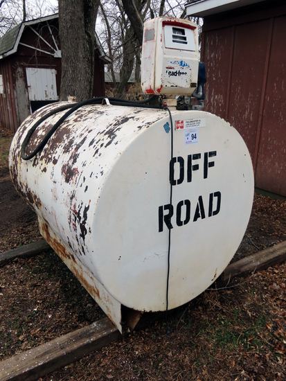 500-Gallon Diesel Tank with 12-Volt Electric Pump