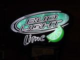 Bud Light Lime Lighted Sign - Works (30
