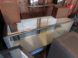 Lighted Glass Fronted Display Cabinet, (1) Interior Shelf Unit 6' x 24