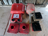 (1) Double Ball Washer, Single Ball Washer, Spike Cleaners (All 1 $)