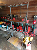 Golf Bag Holder Shelf Unit