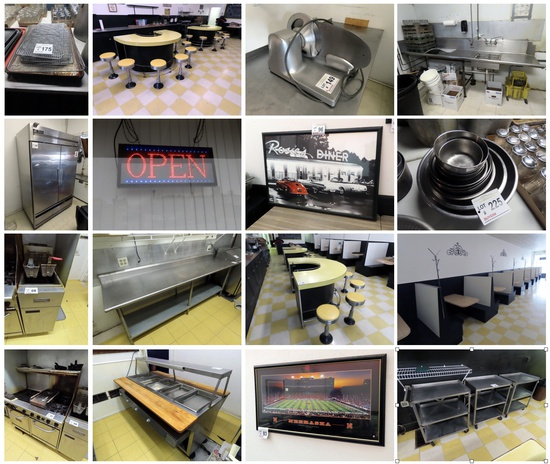 Restaurant Equipment Business Liquidation Auction