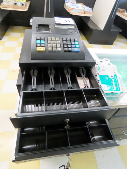 Royal Model 210DX Electronic Cash Register with Cash Drawer, Auxiliary Cash
