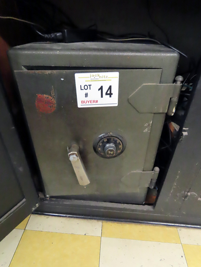 S & G Dial-Type Safe with Original Paperwork (Located on Main Floor).