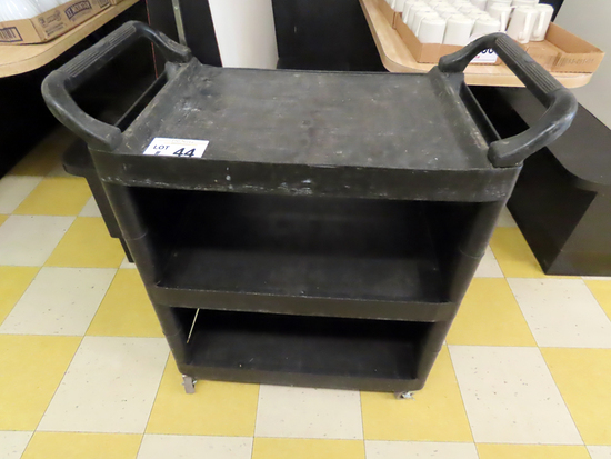 Rubbermaid Rolling Cart with (3) Shelves.