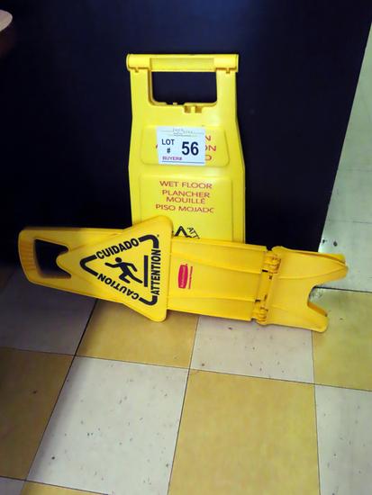 (2) Caution Wet Floor Signs.