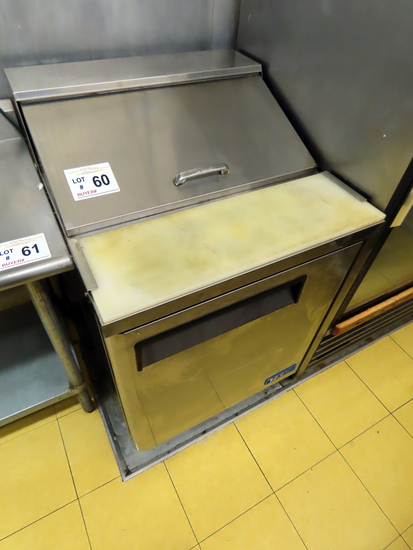 """Turbo Air Model M3 Commercial Stainless Steel Sandwich Prep Table, 27"""" Wide"""