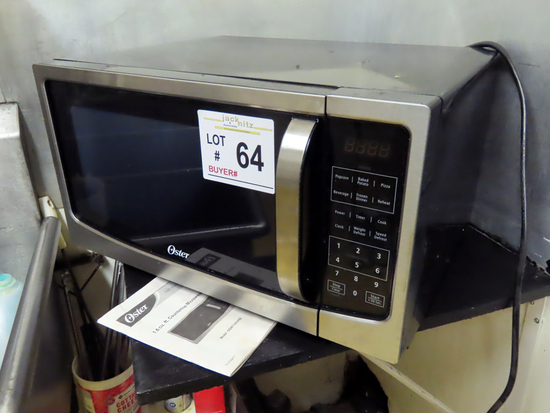 Oscar Commercial Counter Top Microwave with Rotisserie.