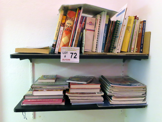 Large Group of Cook Books, Better Homes & Gardens.