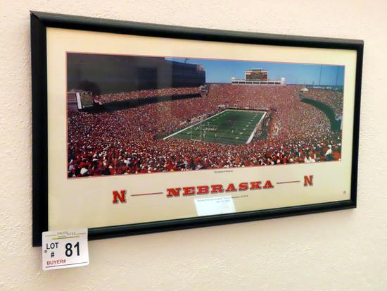 """Nebraska Print Titled """"Springtime in Nebraska""""."""