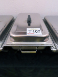 Stainless Steel Chafing Dish with Lid.