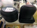 Plastic Serving Baskets-Small, Med & Rectangular.
