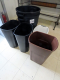 (2) Large & (4) Medium Trash Cans.