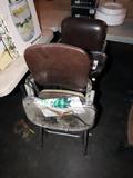 (2) Metal High Chairs.
