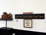 Good Food Good Friends Good Times Sign, Gather Eat Laugh Sign, If You Feed