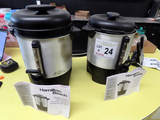 (2) Hamilton Beach Coffee Brew Stations (40 Cup) Brewers.