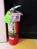 Advantage Fire Extinguisher.