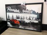 Rosie's Diner Wall Print (38