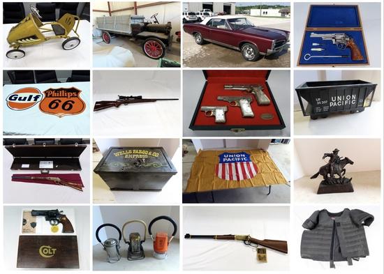 Firearm, Collector Car & Collectibles Auction