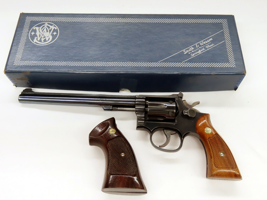 Smith & Wesson K-22 Masterpiece Revolver