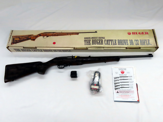 Ruger Cattle Drive 10/22 Semi Auto